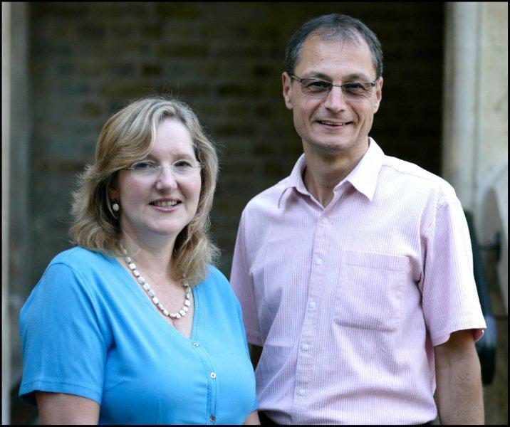 Jane Beales (Headteacher) and Dominik Magyar (Director)