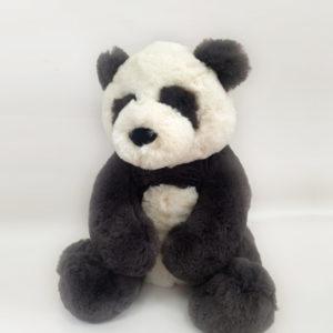 Stuffed toy representing listening